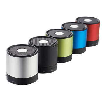 Metallic Bluetooth Speaker