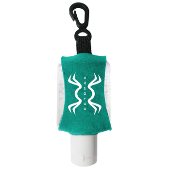 1/2 oz Antibacterial Hand Sanitizer with Custom Leash/ Neoprene Sleeve