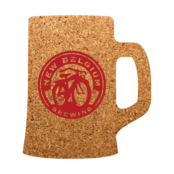 Beer Mug Cork Coaster