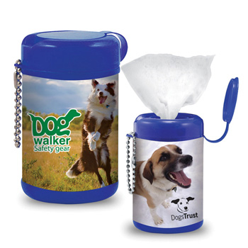 Pet Wipes in Canister